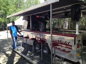 Custom BBQ Trailers | Van Weld North Metal Fabrication In Alaska