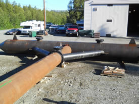 Marsh Creek Projects | Van Weld North Metal Fabrication In Alaska